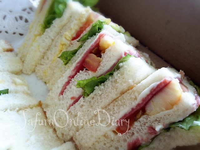 KL sandwich delivery - Garsa Kitchen