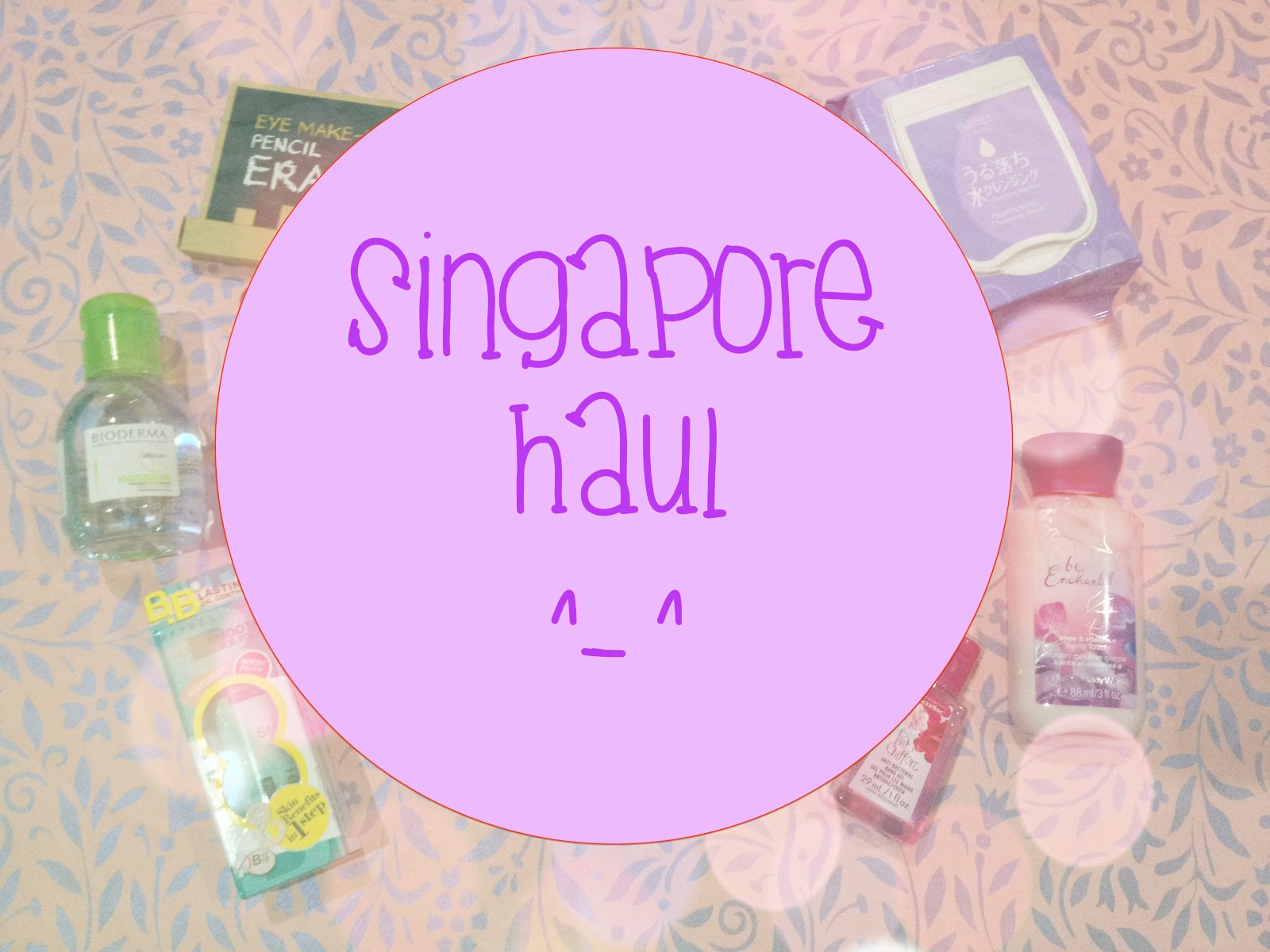 Singapore Beauty Haul! by Jessica Alicia