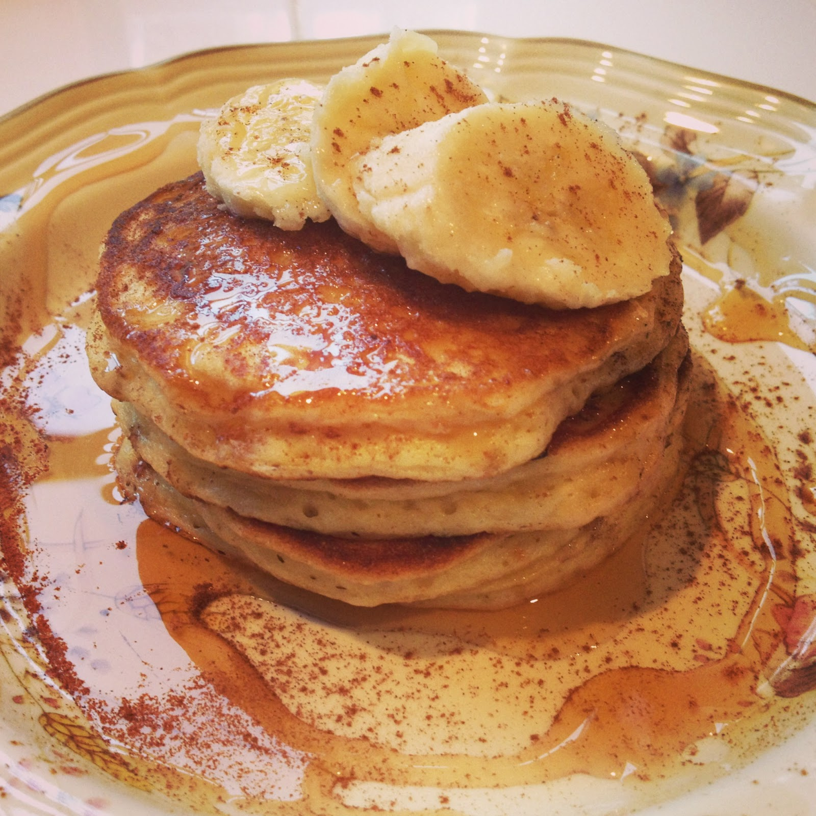 baubles and baked goods: edna mae's sour cream pancakes