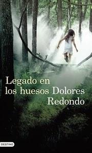 Ranking Semanal: Número 7. Legado en los huesos, de Dolores Redondo.