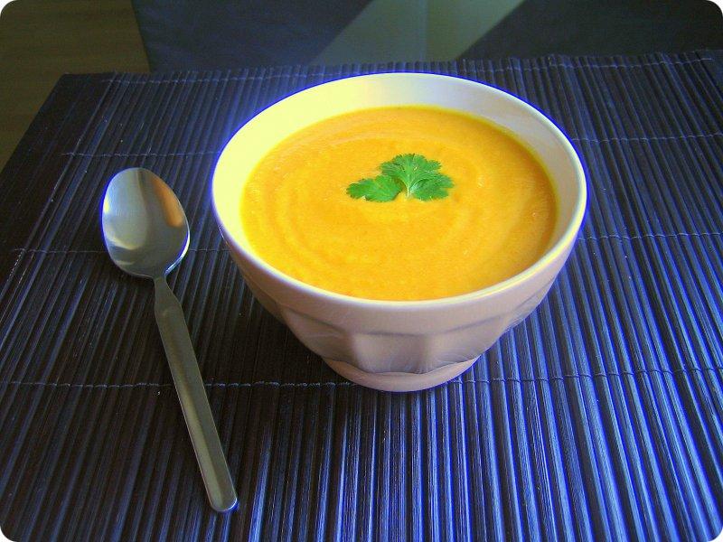 au bon placard soupe de carottes au curry cuisine az. Black Bedroom Furniture Sets. Home Design Ideas