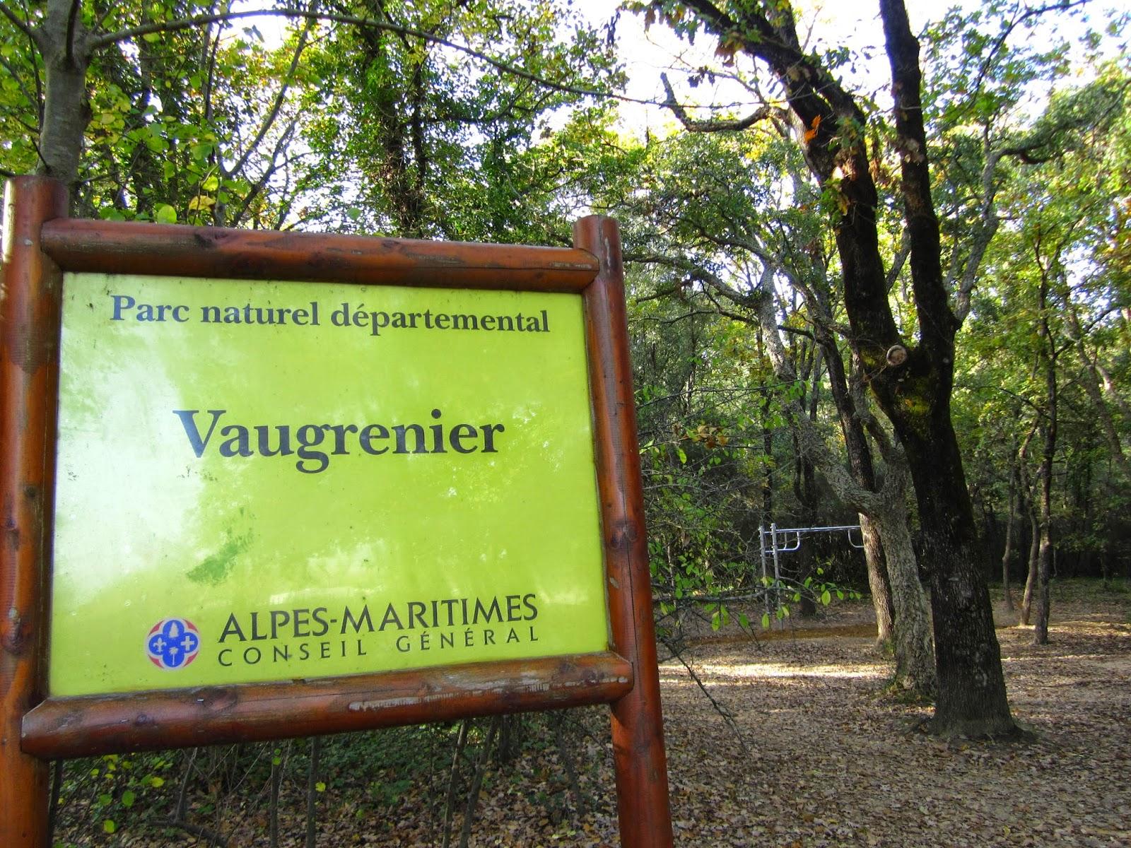 Une balade au Parc de Vaugrenier une chambre d h´te  Antibes