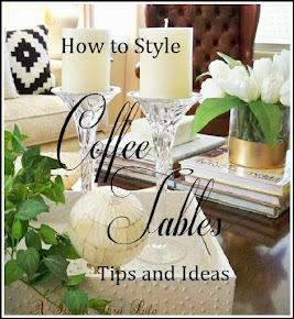 How To Style Coffee Tables - Tips & Ideas