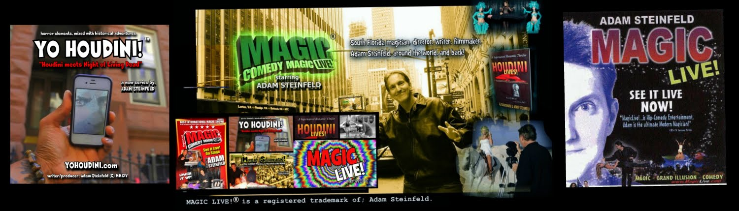 MAGIC LIVE!® : ADAM STEINFELD