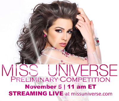 Miss Universe 2013 Preliminary Competition Live Streaming