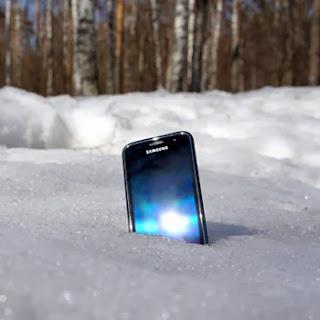 Несколько советов зимней эксплуатации мобильного