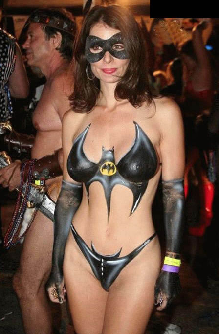 Body Painted Super Heroines Does It Mean They Are Nude 448 X 683