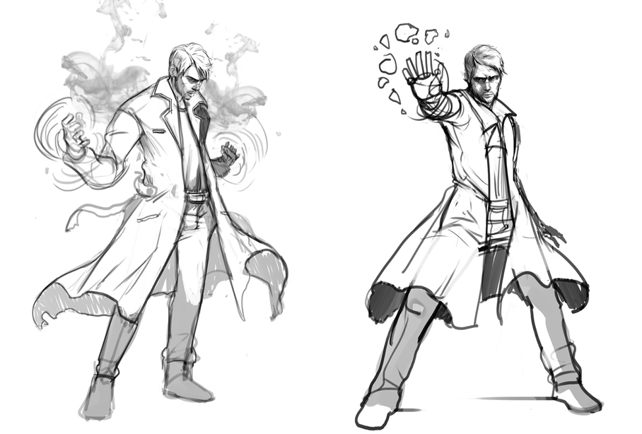 costumes approved pose studies