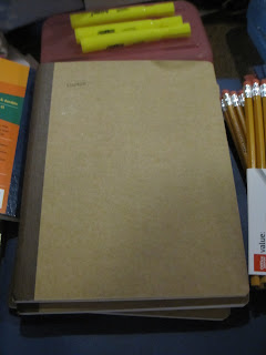 Full view of the sugar cane composition books