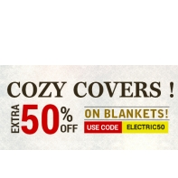 Ask Me Bazaar :All Blankets at  Upto 50% OFF + Extra 50% OFF : BuyToEarn