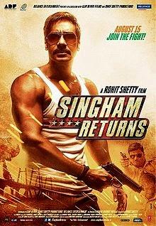 Singham Returns (2014) Poster