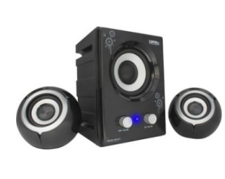 Buy Zebronics Micro Drum 2.1 Multimedia Speaker at Flat 58% off at Shopclues