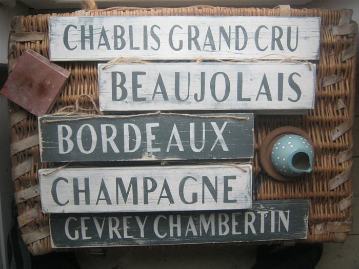 Shabby Chic Kitchen Signs : Shabby chic signs and shabby chic wall art: shabby chic wine signs
