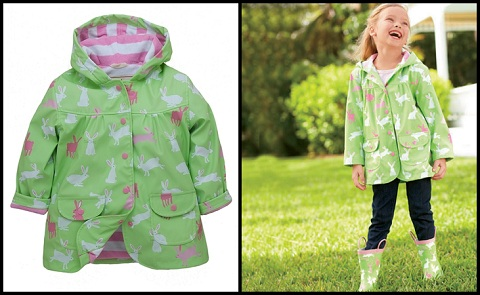 girls' raincoat
