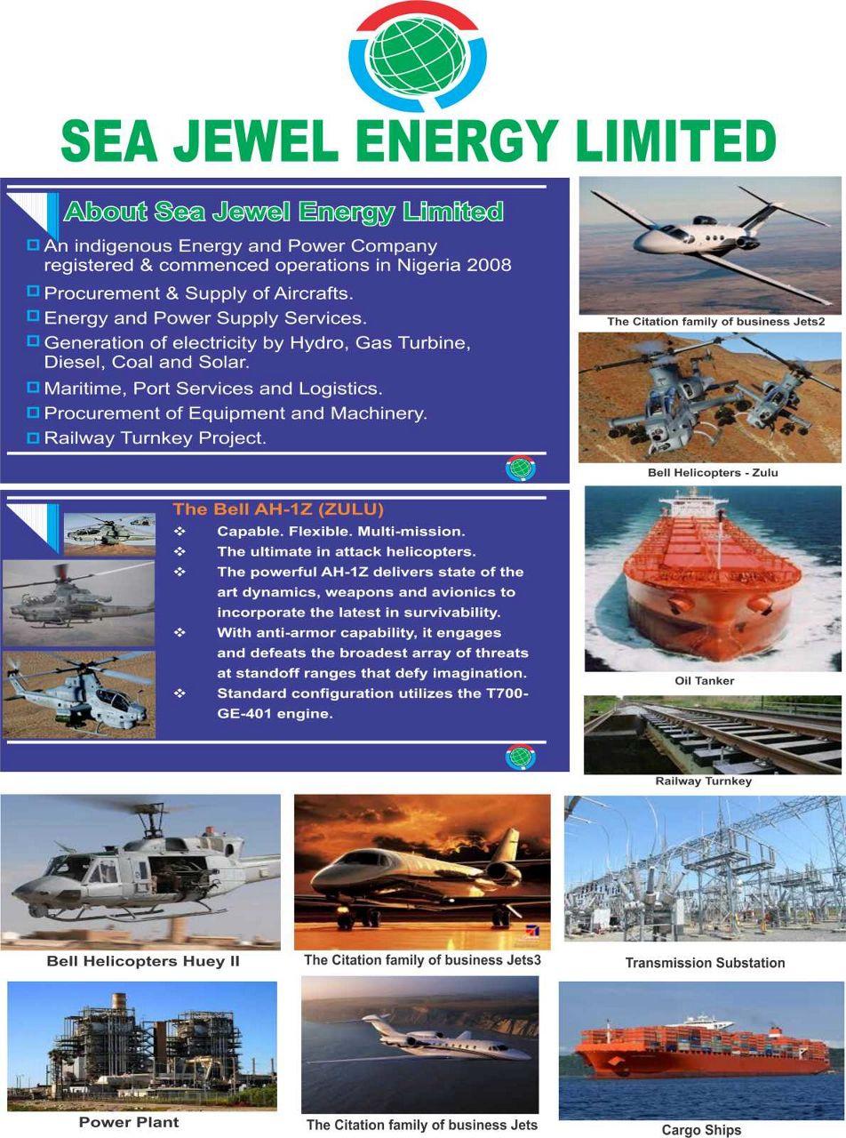 SEA JEWEL ENERGY