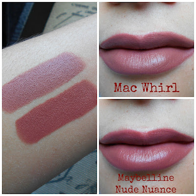 Drugstore Dupe Of Mac Whirl