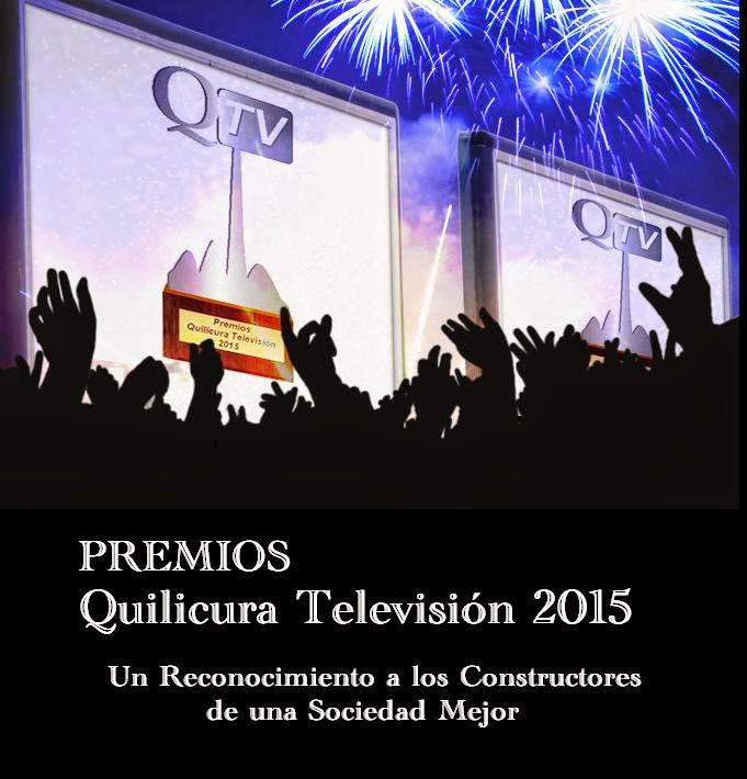PREMIOS QUILICURA TELEVISION 2015