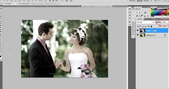 Beragam Efek Edit Foto Wedding dengan Photoshop