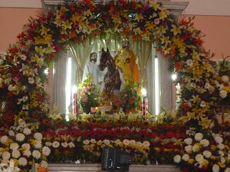 San Martin Caballero, Patron de Jilotepec, Guerrero.
