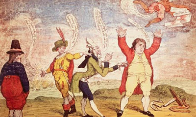 James Gillray -  Colonial Powers 1783