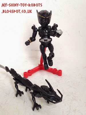 Custom 66 Action Kamen Rider Ryuga & Dragblacker