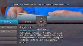 YouView Zoom mode over text to improve accessibility.