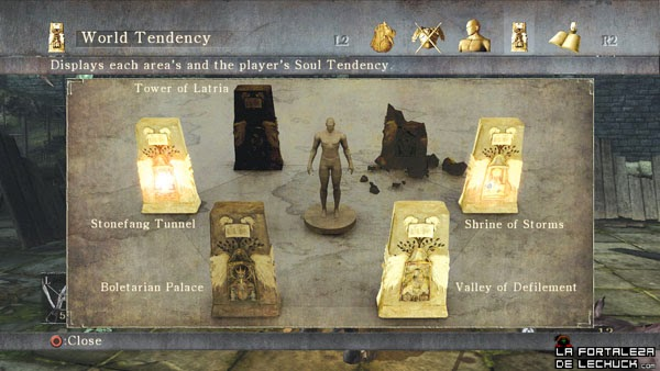 Demon's Souls, archipiedras