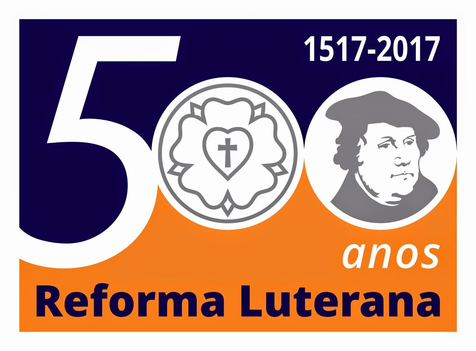 Selo comemorativo - Rumo aos 500 nos da Reforma em 2017.