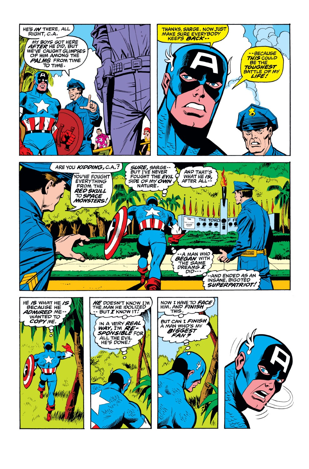Captain America (1968) Issue #156 #70 - English 15