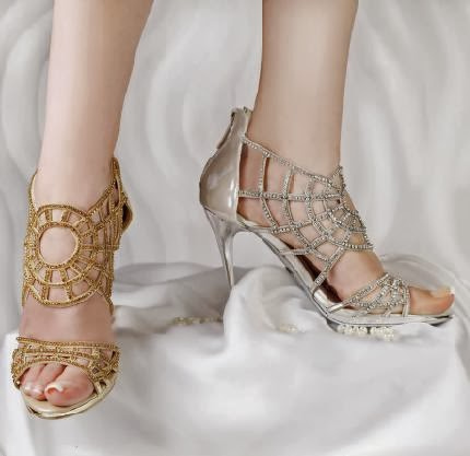 New Fashion In Latest Shoes Girls Design 2014