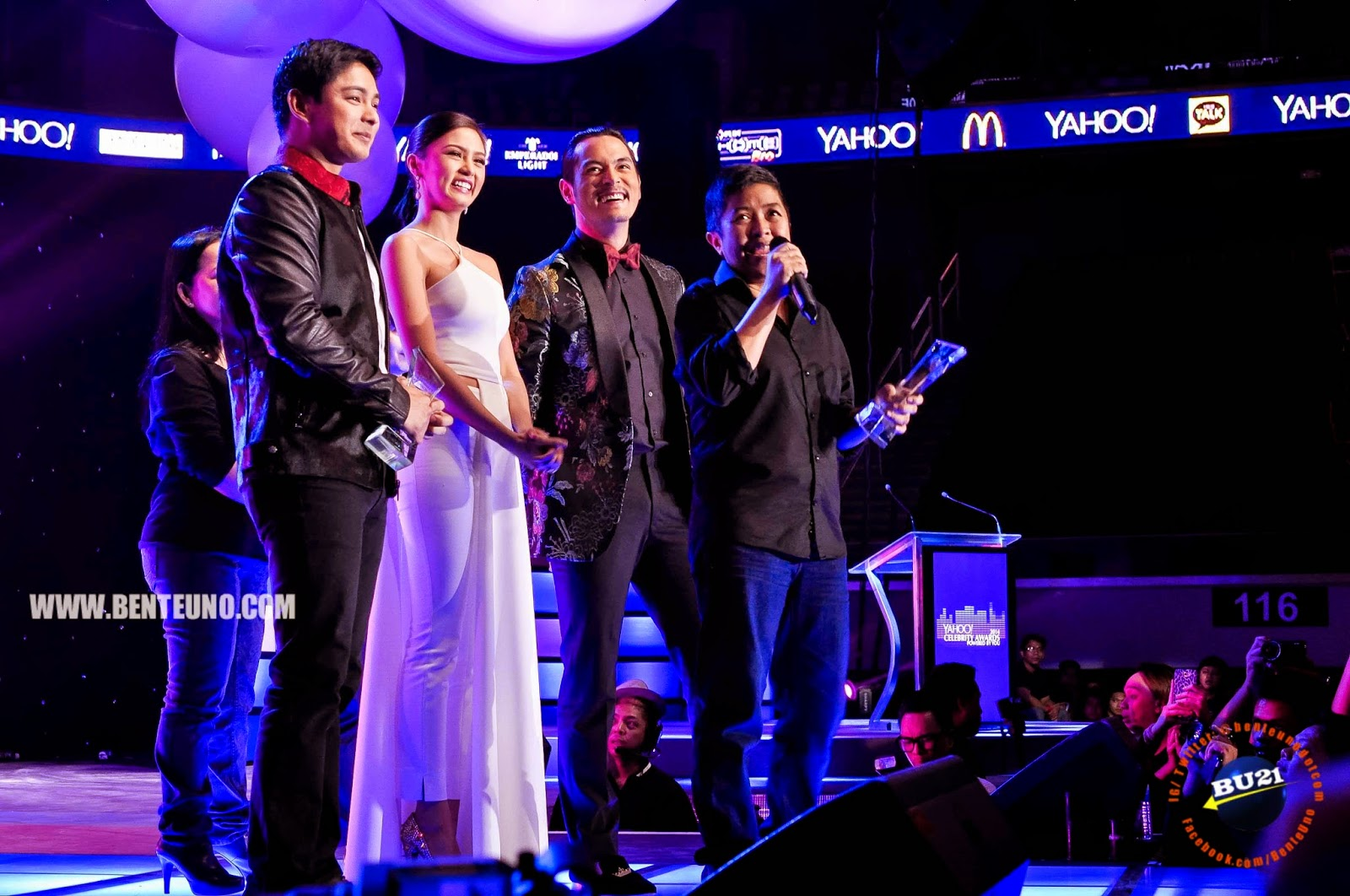 Ikaw Lamang named Teleserye of the Year at the Yahoo Celebrity Awards 2014
