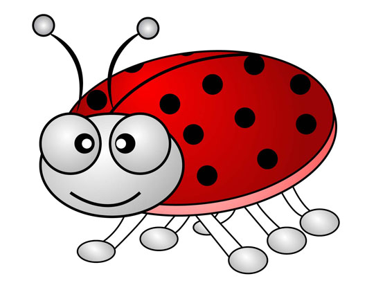 How To Design Cartoonu2013Ladybug