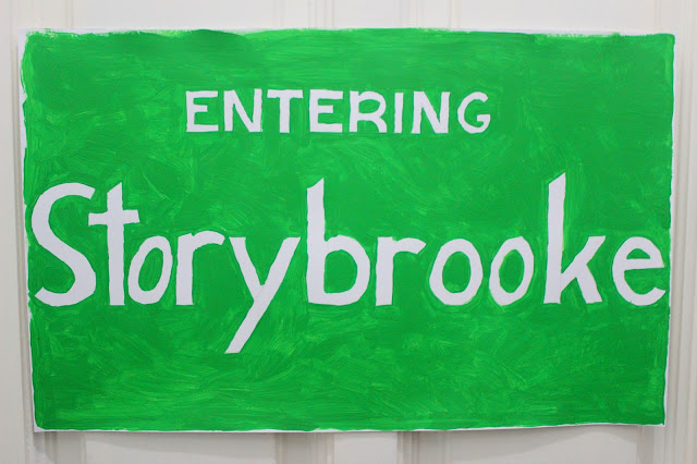 Entering Storybrooke Sign