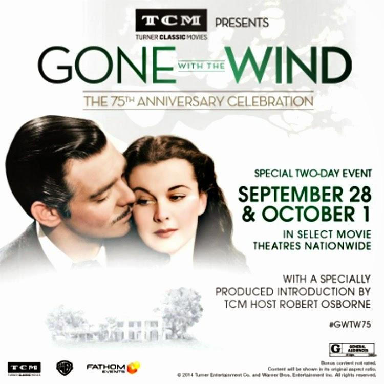 A Vintage Nerd, Vintage Blog, Classic Film Blog, Old Hollywood Blog, TCM Gone with the Wind, Turner Classic Movie Screening