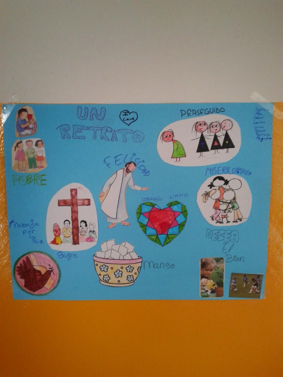 El blog de recolelicasa las bienaventuranzas en lumpiaque for Mural nuestra carne