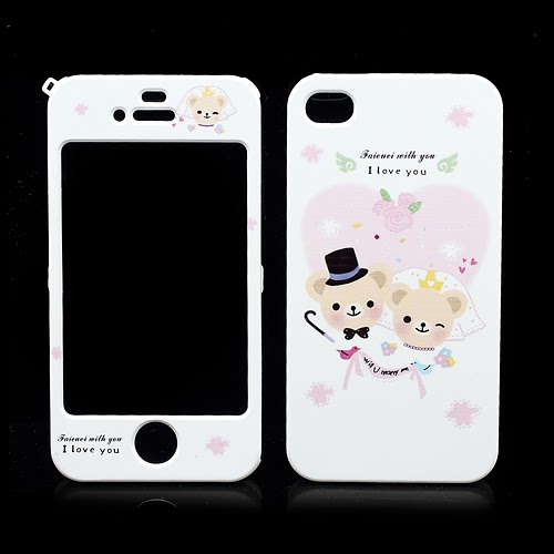 Happymori Will U Marry Me : Front & Back Snap-On Hard Case for iPhone 4 4S