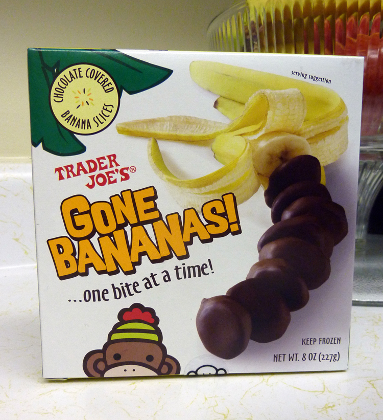 frozen banana slices