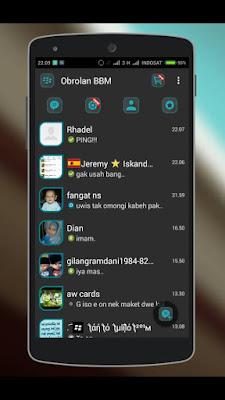 BBM DARK L MATERIAL V.2.9.0.45 by Izzan Nouvian