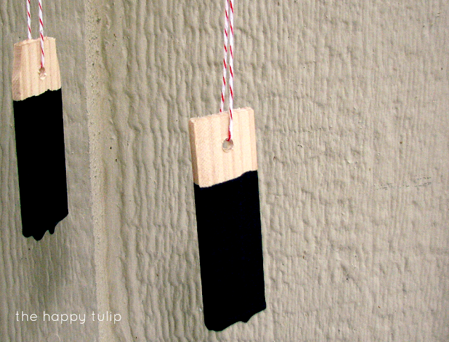diy chalkboard drink tags
