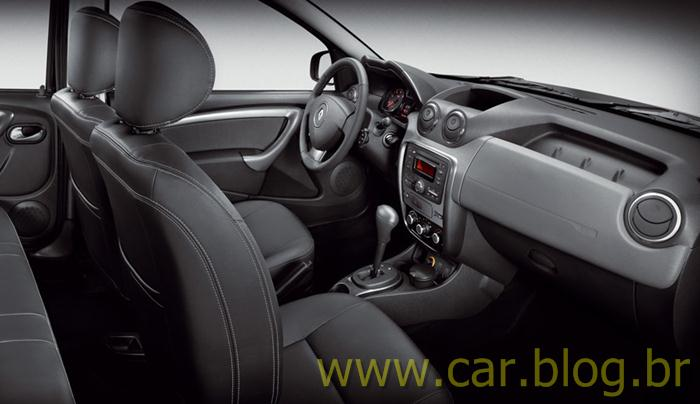 Renault Duster 2012 AT interior