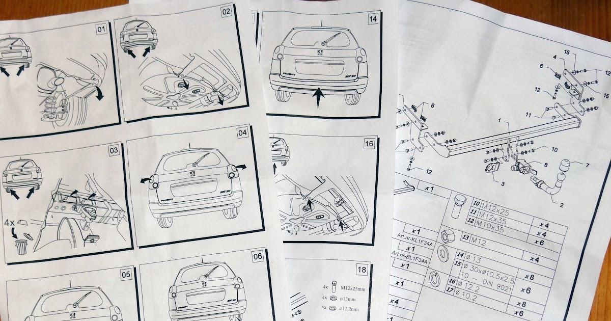 Grenzerfahrungen 2014 - Südamerika: Einbau Anhängerkupplung Peugeot ...