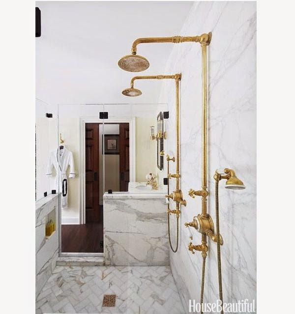 I Would Love To Have Unlacquered Brass In Our Master Bathroom.