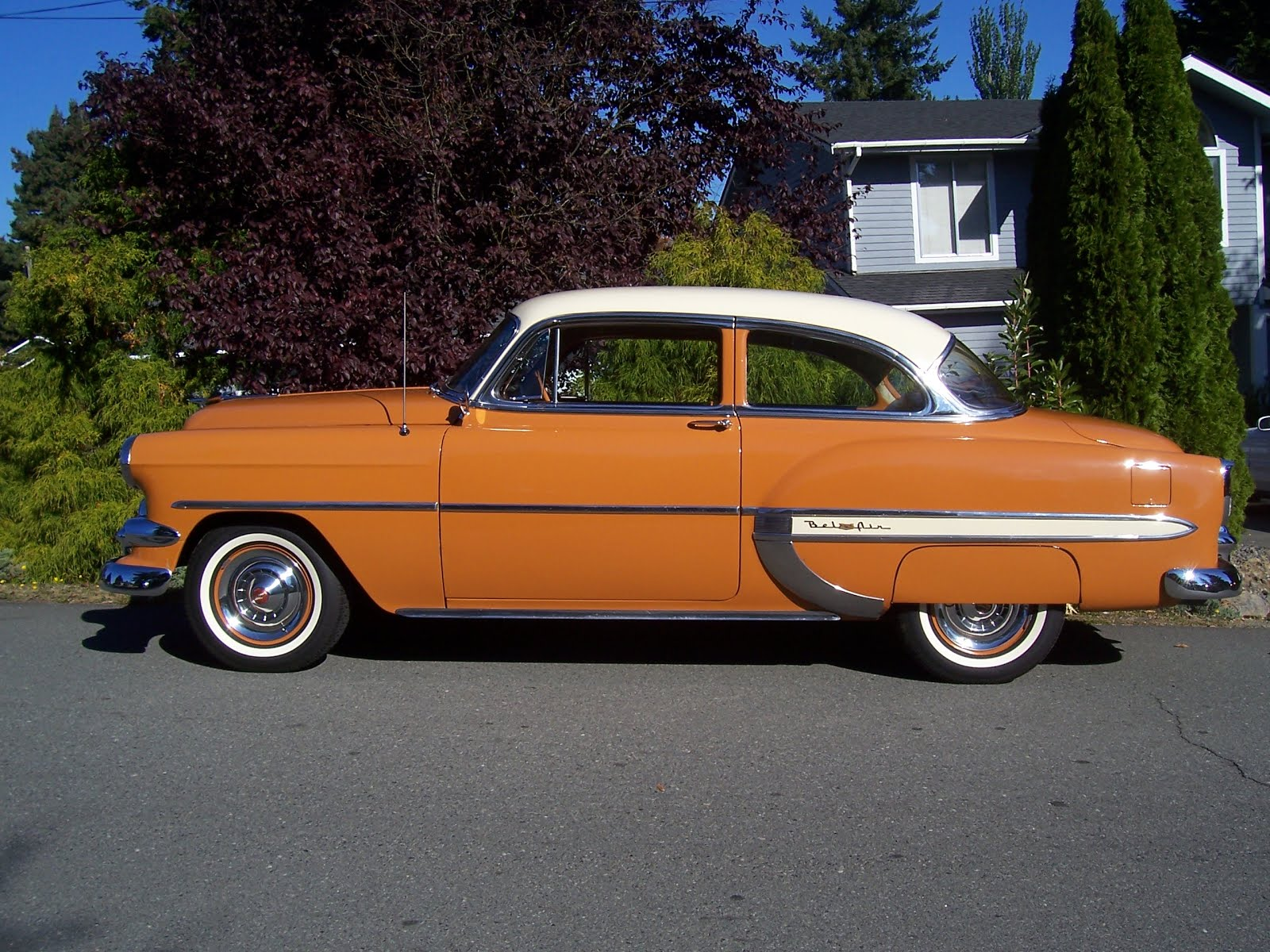 OLD PARKED CARS Reader Submission 1954 Chevrolet Bel