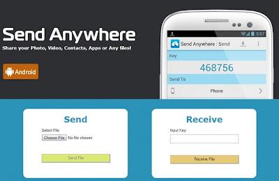 Send Anywhere - comparte todo lo que quieras