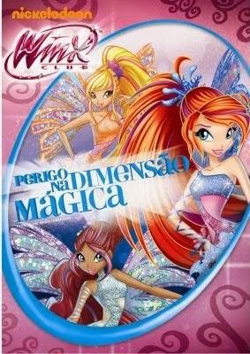 Filme Clube Das Winx Perigo Na Dimensão Mágica Dublado AVI DVDRip