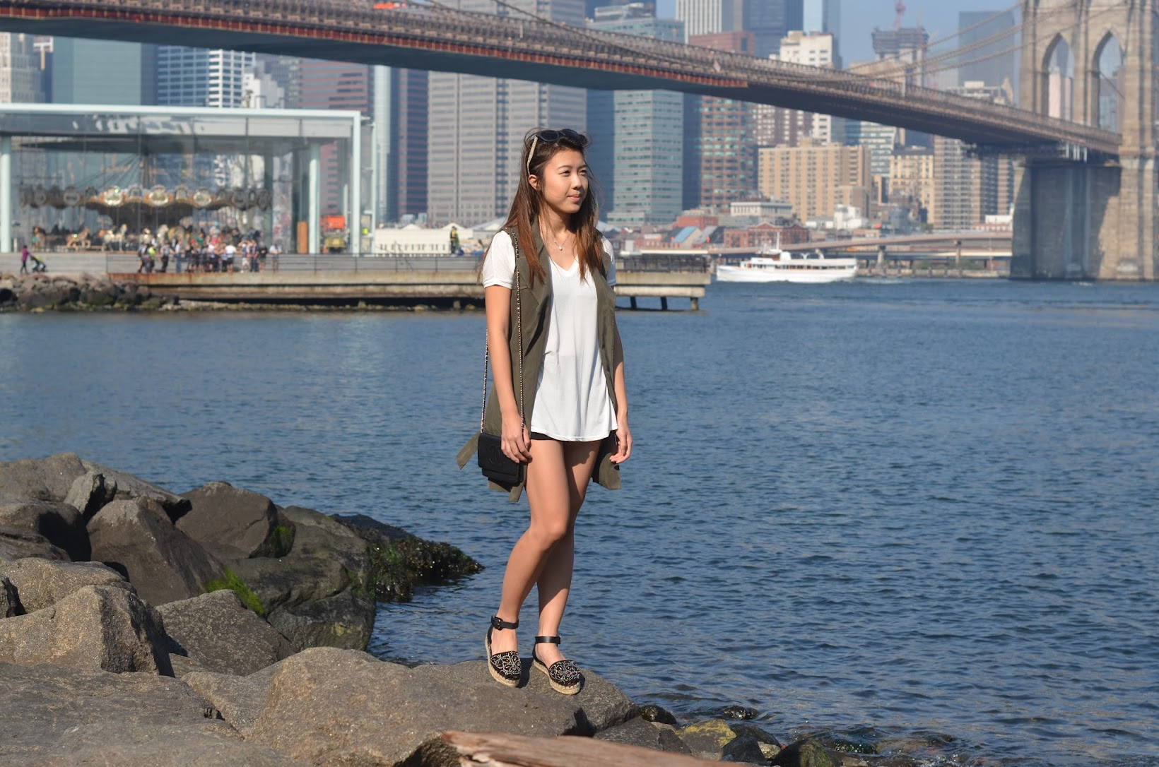 explicit affairs dumbo brooklyn outfit valentino espadrilles