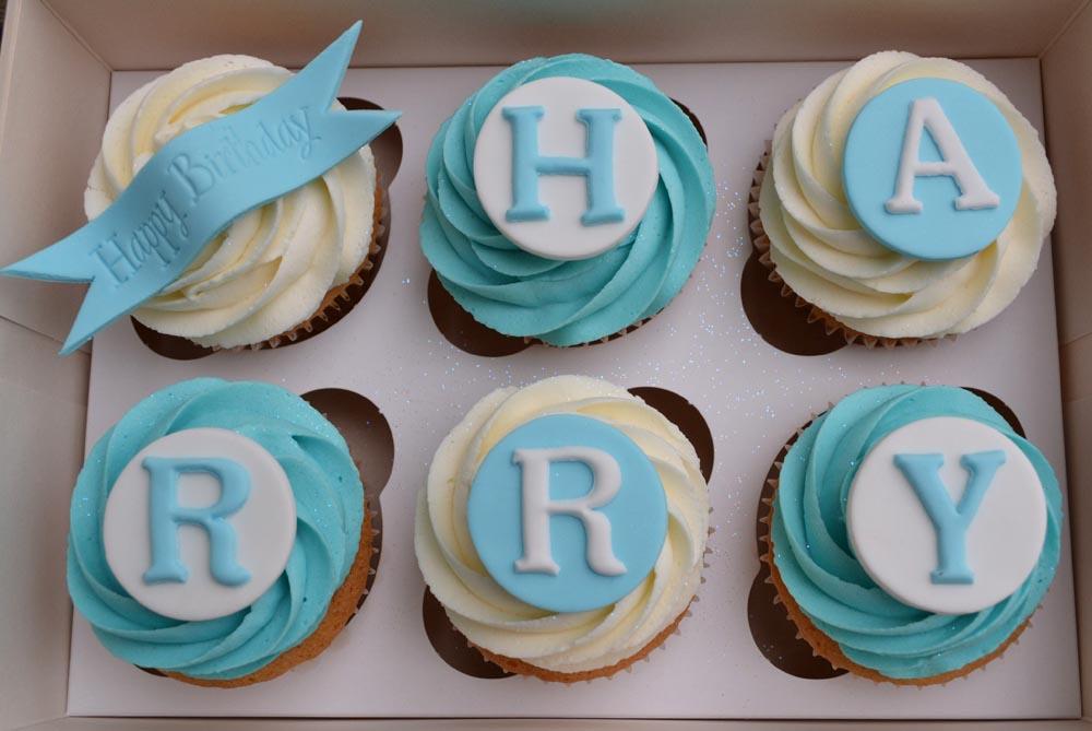 Little Paper Cakes Happy Birthday Harry Gift Box