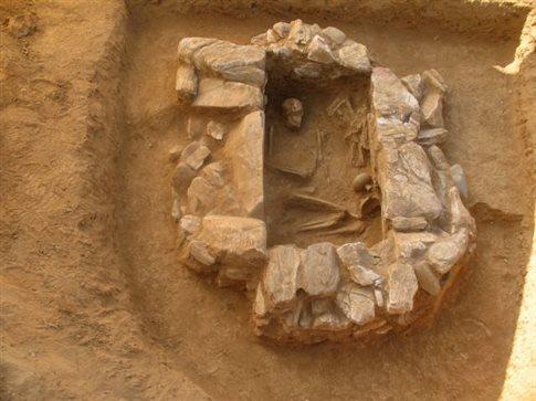 Λιθόκτιστος τάφος των Μυκηναϊκών Χρόνων ανακαλύφθηκε στη Λέσβο