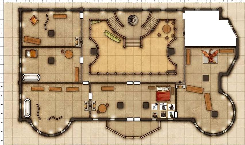 Combat Map - Turn 35