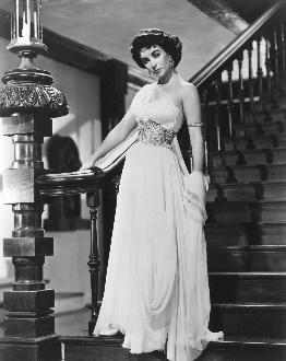 Elizabeth taylor white dress image